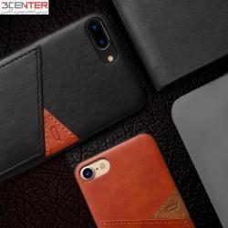 کاور چرمی ایفون 7پلاس برند icon flang