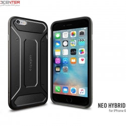 گارد اسپیگن Samsung  NOTE 4 Case Neo Hybrid Carbon