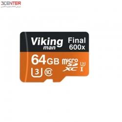 رم 64 گیگ Vikingman 64GB  Class10 UHS-I U3 Memory Card