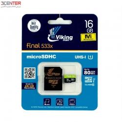 رم 16 گیگ Vikingman 16GB Class10 UHS-I U1 Memory Card