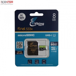 رم 8 گیگ Vikingman 8GB Class10 UHS-I U1 Memory Card