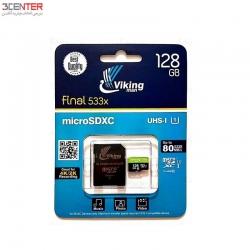 رم 128 گیگ Vikingman 128GB Class10 UHS-I U1 Memory Card