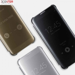 Samsung Clear View Flip Cover For Galaxy S7 Edge