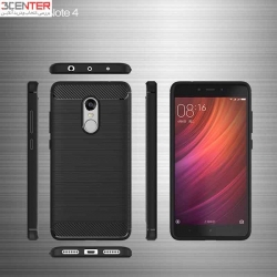 محافظ TUP شیائومی Brushed TPU Matl Case Xiaomi RedMi Note 4