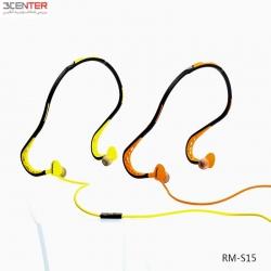 هدست ورزشی ریمکس S15 Sports Wired Headset