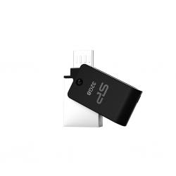 فلش مموری سیلیکون پاور Silicon Power Mobile X21 OTG USB Flash Memory 8GB