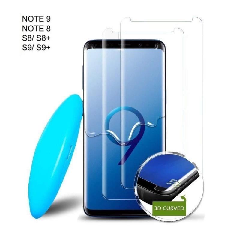 برچسب گلس یو وی سامسونگ UV Nano Glass Samsung Galaxy S8 |
